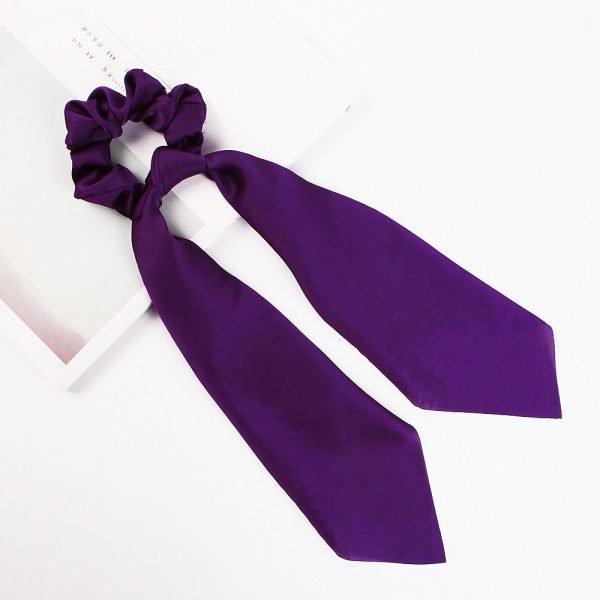 hair scarf scrunchie silk (8)