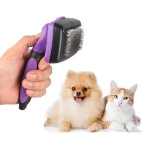 Dog or Cat Self Cleaning Slicker Brush Wholesale