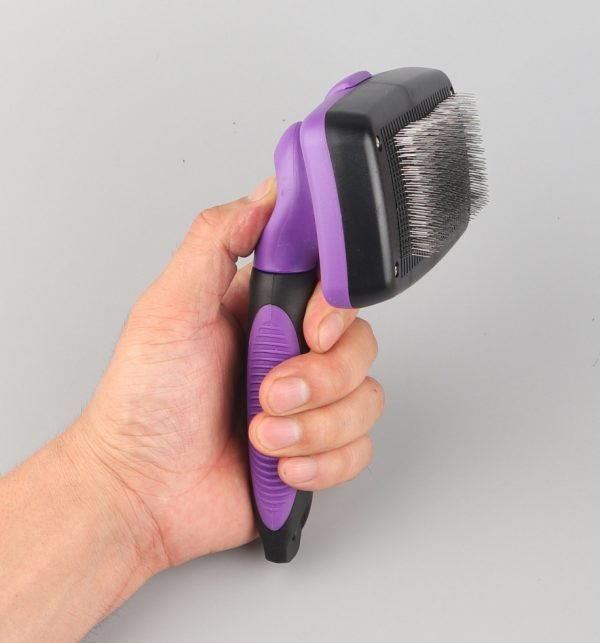 Dog or Cat Self Cleaning Slicker Brush Wholesale Made In China