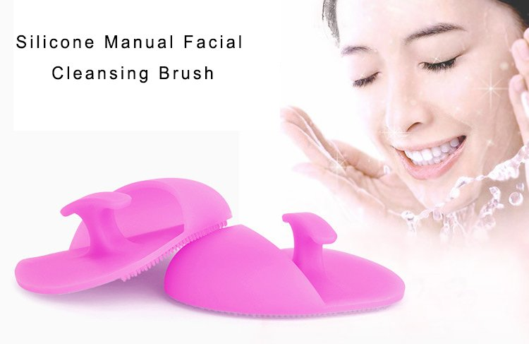 Silicone Manual Facial Cleansing Brush with Cheap price