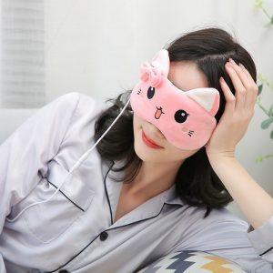 cotton eye mask
