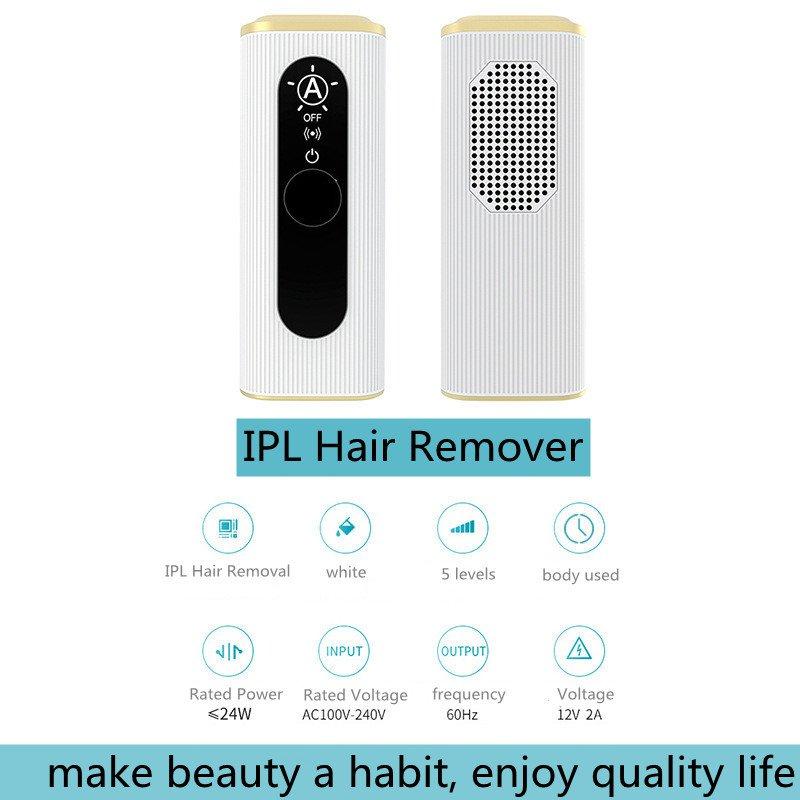 IPL hair removal irony white