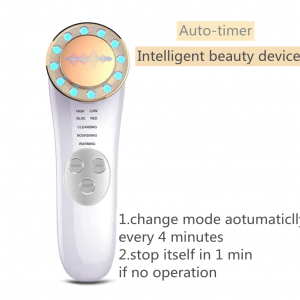 Ion Therapy LED Light Machine White Gold