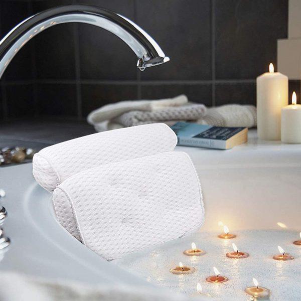 bathtub cushion bath pillow