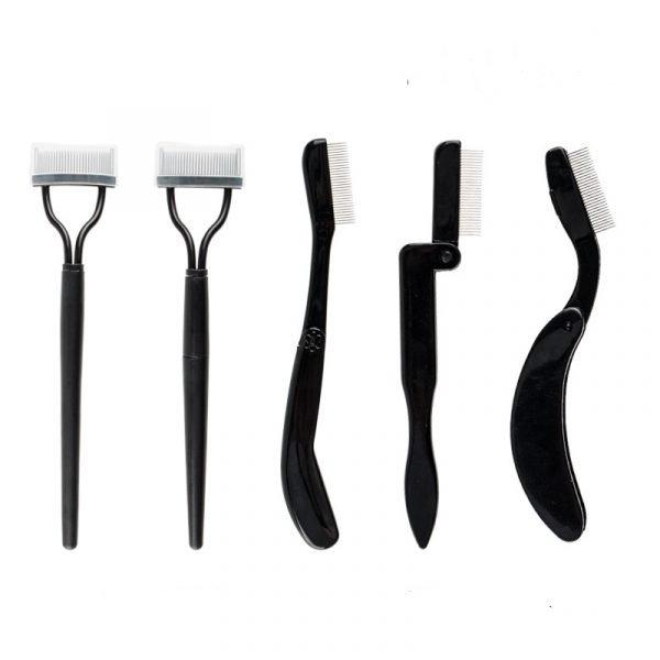 folding eyelash comb