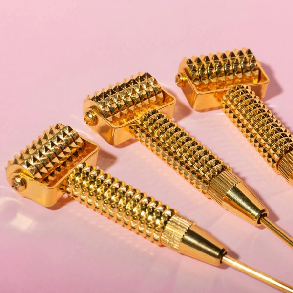 Gold Spike Face Roller Wholesale